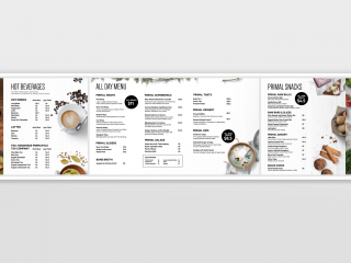 Primal Pantry Digital Menu Boards