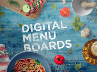 February Newsletter: 002. Digital Menu Boards